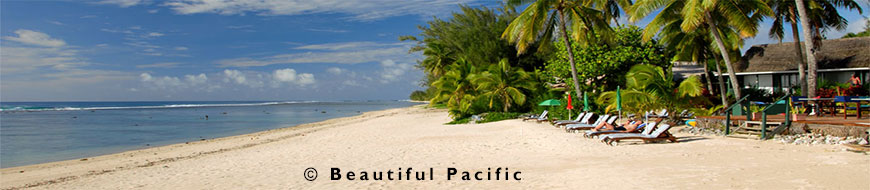 beach front accommodation on rarotonga island