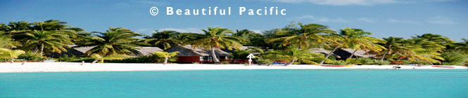 picture of aitutaki agoon resort beach