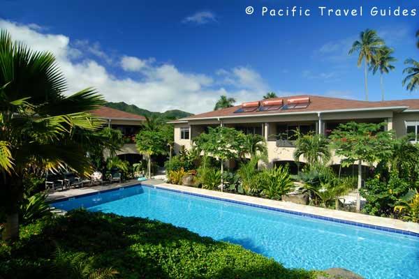 Sunset Resort Rarotonga Beautiful Cook Islands Hotels