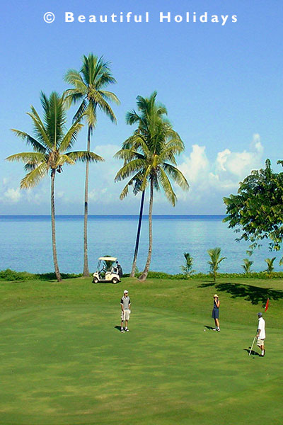 golf at denarau island