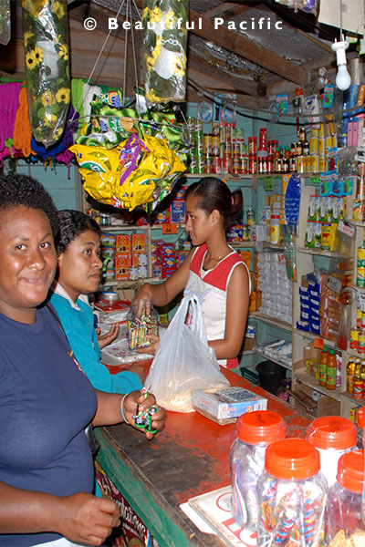 village store on taveuni island