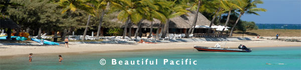 luxury resort in new caledonia with overwater bungalows