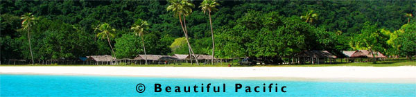 beach holidays south pacific islands