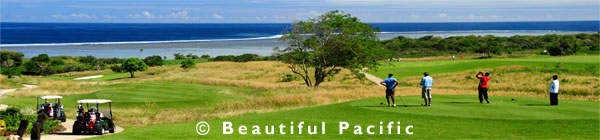 golf holidays south pacific islands