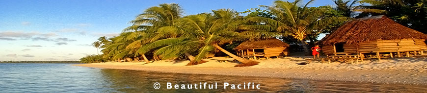 beach fale accommodation in samoa's savaii island